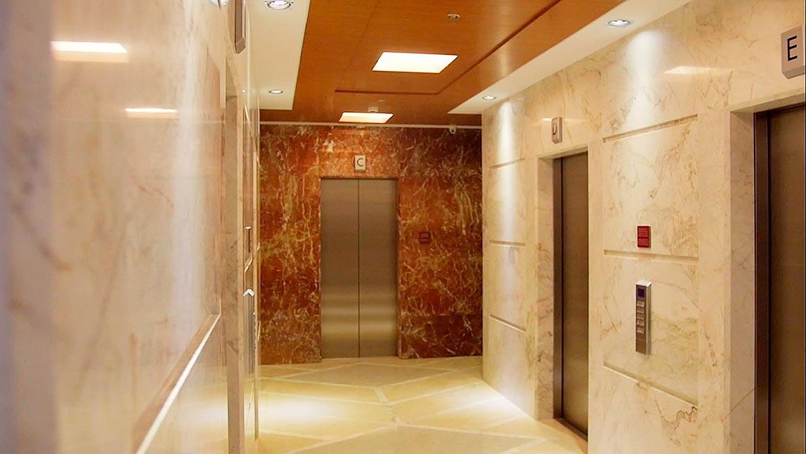 Elevator Hallway Penthouse
