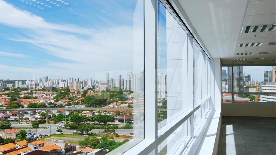 Vista da janela do Conjunto
